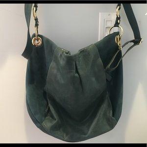 Dark green Vince Camuto shoulder bag.